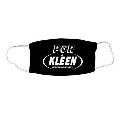 Pur & Kleen Water Company Face Mask Rectangle Designed By Sezapinka