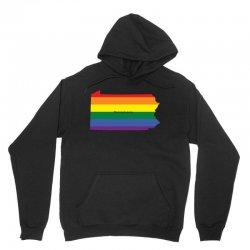 pennsylvania rainbow flag Unisex Hoodie | Artistshot