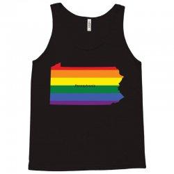 pennsylvania rainbow flag Tank Top | Artistshot