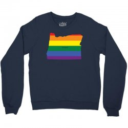 oregen rainbow flag Crewneck Sweatshirt | Artistshot