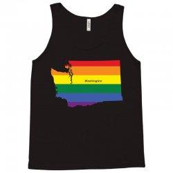washington rainbow flag Tank Top   Artistshot