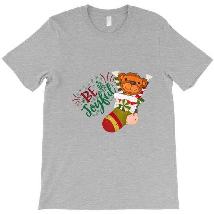 Be Joyful T-shirt Designed By Chiks