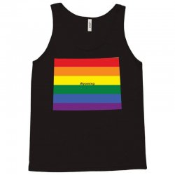 wyoming rainbow flag Tank Top | Artistshot