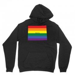 wyoming rainbow flag Unisex Hoodie | Artistshot
