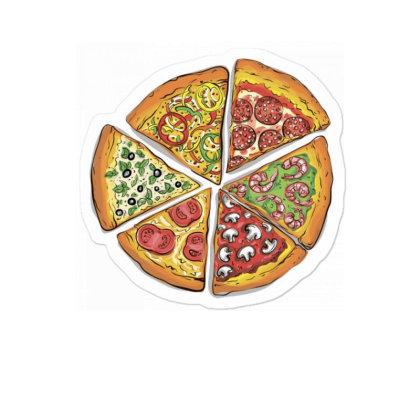 Pizza The Six Sticker Designed By Agunggw