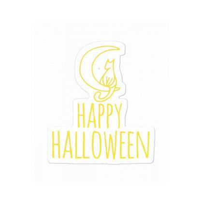 Happy Halloween Sticker Designed By Blackstone