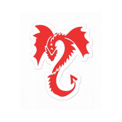 Red Dragon Sticker Designed By Blackstone