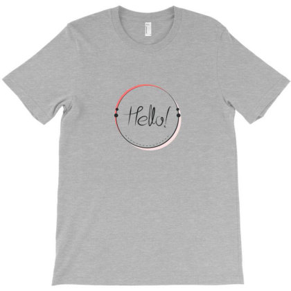 Geometric Abstract Typography T-shirt Designed By Chiks