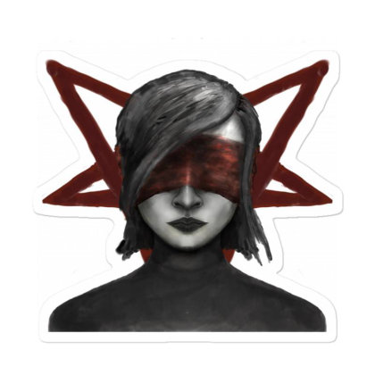 Another Six, Six And Six Sticker Designed By Knife.vs.face