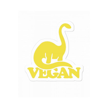 Vegan Dinosaur Sticker Designed By Blackstone