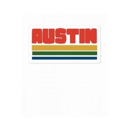 Vintage Style Austin Sticker Designed By Blackstone
