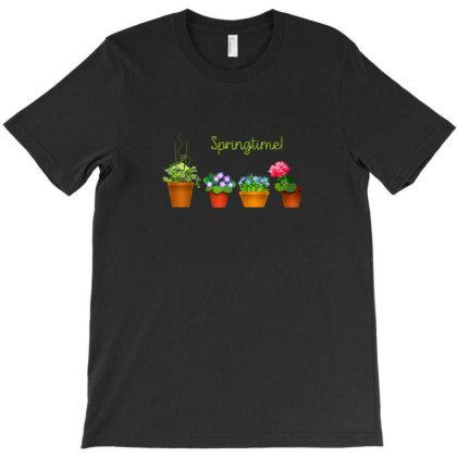 Springtime T-shirt Designed By Chiks
