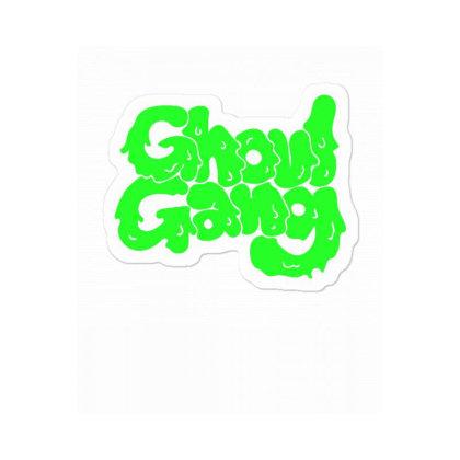 Ghoul Gang Sticker Designed By Blackstone