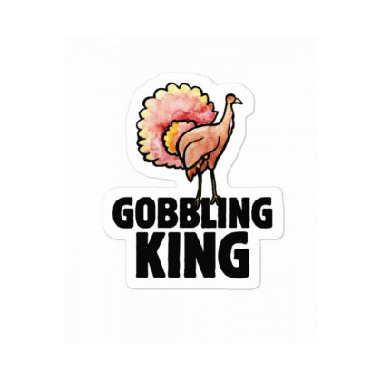 Gobblin King Sticker Designed By Blackstone