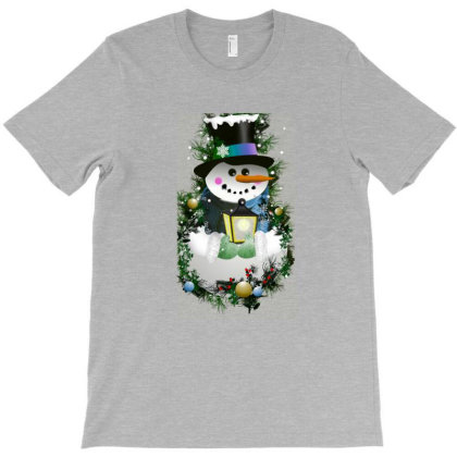 Snow Man T-shirt Designed By Chiks