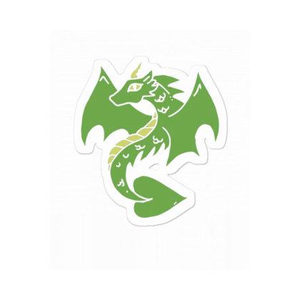 Green Dragon Sticker Designed By Blackstone