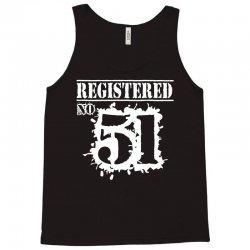 registered no 51 Tank Top   Artistshot