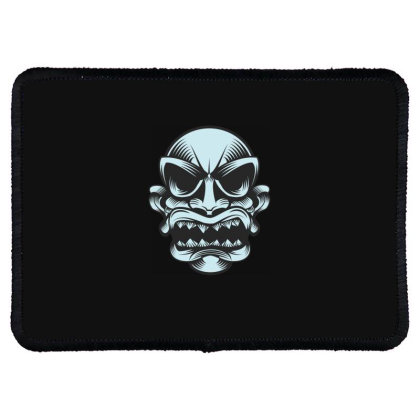 Skull Rectangle Patch Designed By Estore