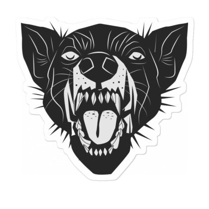 Bad Cat Sticker Designed By Estore
