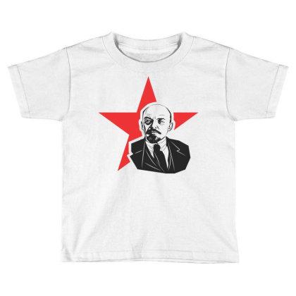 Lenin Russia, Star Toddler T-shirt Designed By Estore