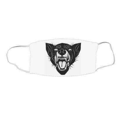 Bad Cat Face Mask Rectangle Designed By Estore