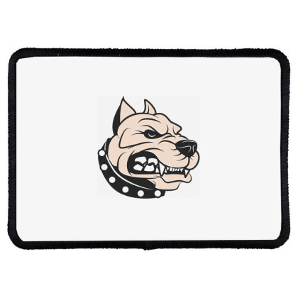 Dog Rectangle Patch Designed By Estore