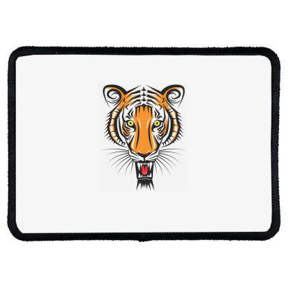 Tiger Rectangle Patch Designed By Estore