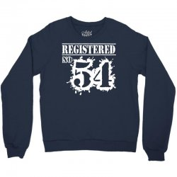 registered no 54 Crewneck Sweatshirt | Artistshot