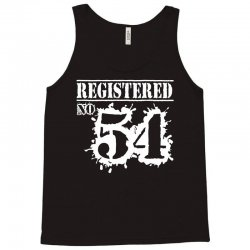 registered no 54 Tank Top | Artistshot
