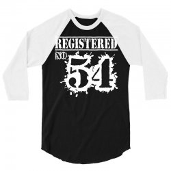 registered no 54 3/4 Sleeve Shirt | Artistshot