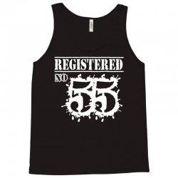 registered no 55 Tank Top | Artistshot
