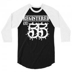 registered no 55 3/4 Sleeve Shirt | Artistshot