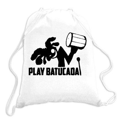 Play Batucada Drawstring Bags Designed By Swan Tees