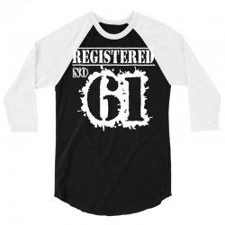 registered no 61 3/4 Sleeve Shirt | Artistshot