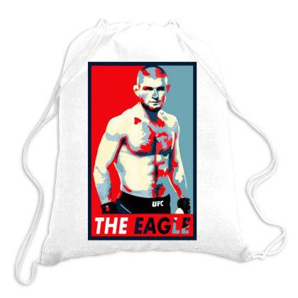 Khabib The Eagle Nurmagomedov Drawstring Bags Designed By Romeo And Juliet