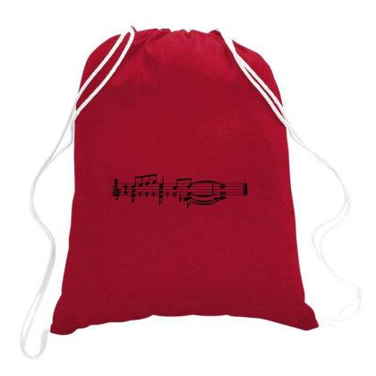 Jazz Music Drawstring Bags Designed By Angkarabudi