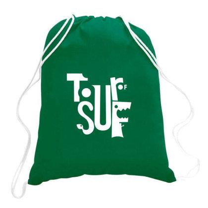 Sufferlandria 2020 Logo Drawstring Bags Designed By Dizzytrina