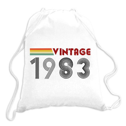Retro Born In 1983 Drawstring Bags Designed By Romeo And Juliet