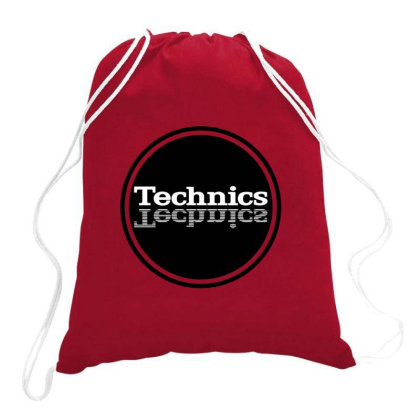 Technics 1 Drawstring Bags Designed By Dizzytrina