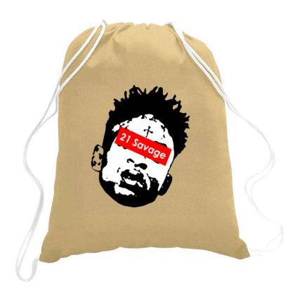 Free 21 Savage Drawstring Bags Designed By Dizzytrina