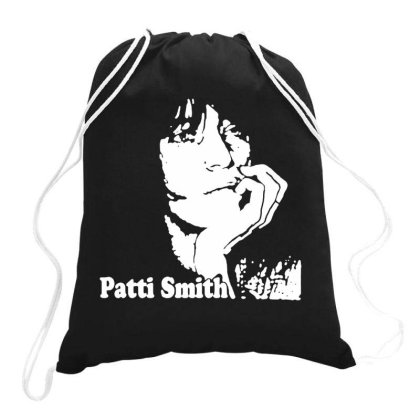 Patti Smith Drawstring Bags Designed By Swan Tees