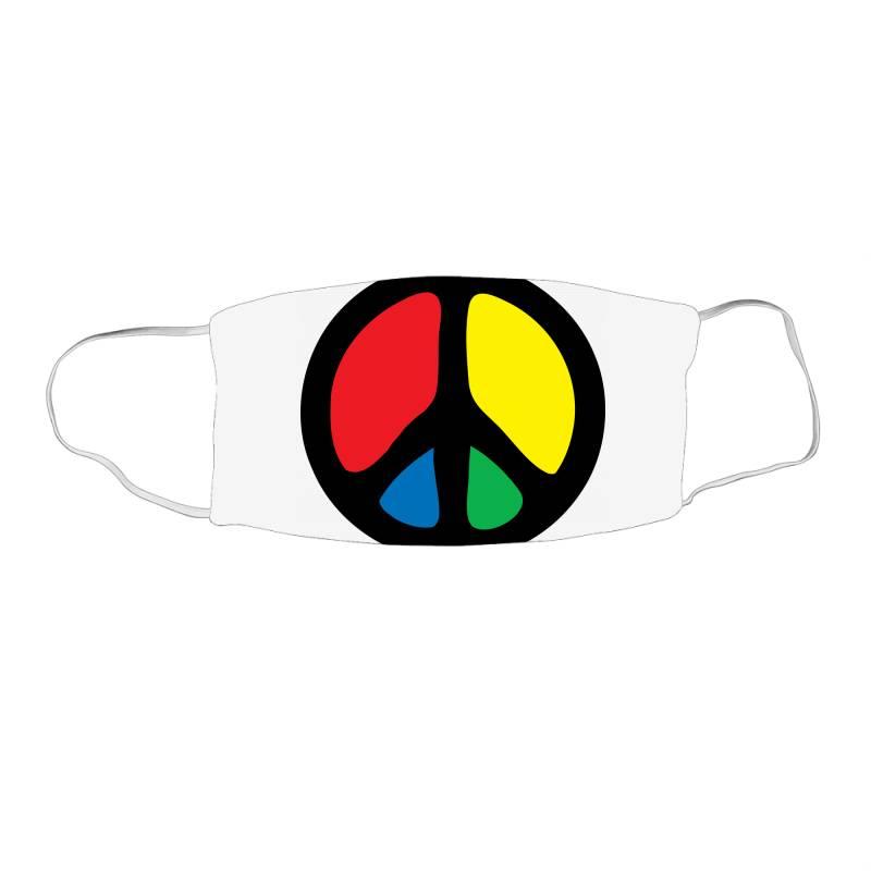Peace Logo Face Mask Rectangle | Artistshot