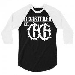registered no 66 3/4 Sleeve Shirt   Artistshot