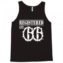 registered no 66 Tank Top   Artistshot