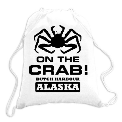 On The Crab Drawstring Bags Designed By Swan Tees