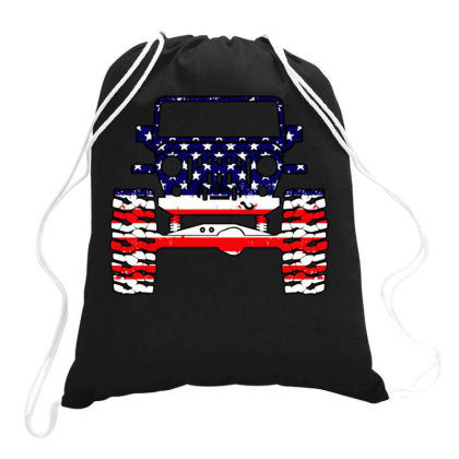 Legend American Jeep Drawstring Bags Designed By Swan Tees