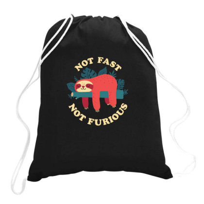 Not Fast, Not Furious Classic Drawstring Bags Designed By Yusrizal_
