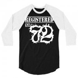 registered no 72 3/4 Sleeve Shirt | Artistshot
