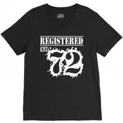 registered no 72 V-Neck Tee | Artistshot