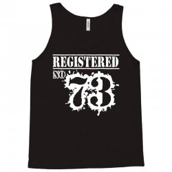 registered no 73 Tank Top | Artistshot